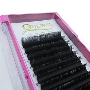 Silk Synthetic Korean Fiber D Curl Individual Lashes