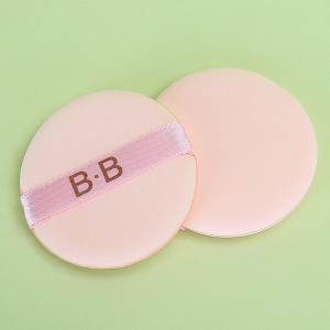 Yousha cosmetic powder puff makeup custom wholesale BB round flat makeup puff sponge YF030