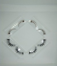 /False eyelash /Hand Polished Eyelashes Double-Layered Mink Lashes Enlarge the eyes