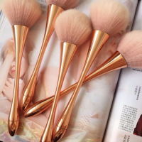 B-001 pink color face makeup brush