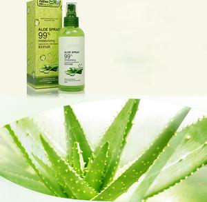 100% Natural Aloe Vera Spray Skin Toner for Oily Skin