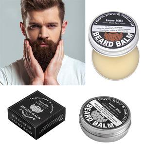100% Natural Beard Balm Beard& Hair Wax Organic High quality for mens care 60g In Stock