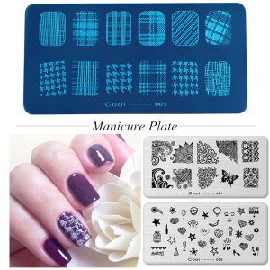 36 Styles Beautiful Pattern Nail Art Stamp Plates Stainless Steel Nail Stamping For DIY Nail Art