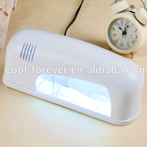 9W nail uv lamp for Nail and Toe nail salon equipment