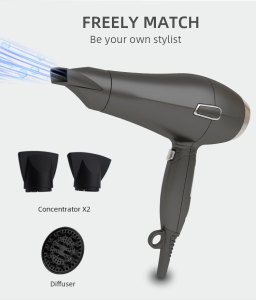 Amaon Hot Selling Plastic Turbo Twin Hair Blower 2300, China Best Supplier Ceramic Bling Blow Dryer Professional Hair Dryer