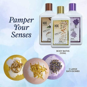 Beauty and Personal Care Bathing Accessories Custom Bath Bombs Body Spa Bath Gift Set