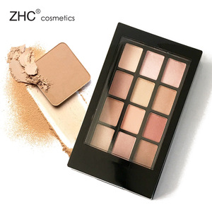 CC30454 Private Label Makeup Cosmetics 12colors Eyeshadow palette