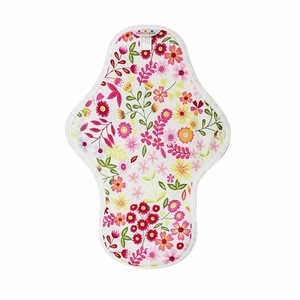 Comfort Feminine Soft Microfleece Heart Felt Reusable Sanitary Pads Cloth organic female  Menstrual Pad cotton sanitary napkins