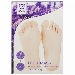 hot sale best skin effective foot care peeling spa socks exfoliating foot mask