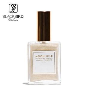 ODM/OEM Private Label Natural Moon Milk Shimmer Skin Moisturizing Body Glow Glitter Essential Shimmering Jasmine Body Oil