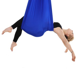 Parachute Nylon Silk Fabric With More Elastic Yoga Swing Aerial Yoga Fitness Hammock Aerial Yoga Hammock
