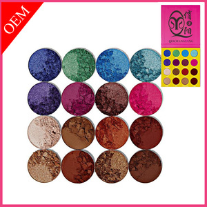 Private label Shimmer Make Up Oem 16 Colors Diamond Eye Shadow