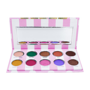 Stock 10 Color Eyescream Eyeshadow Morphe Eyeshadow Palette
