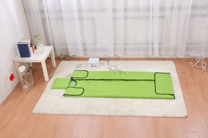 Totally New product ! Infrared sauna blanket with tourmaline and jade stones for health care and slimming weight loss