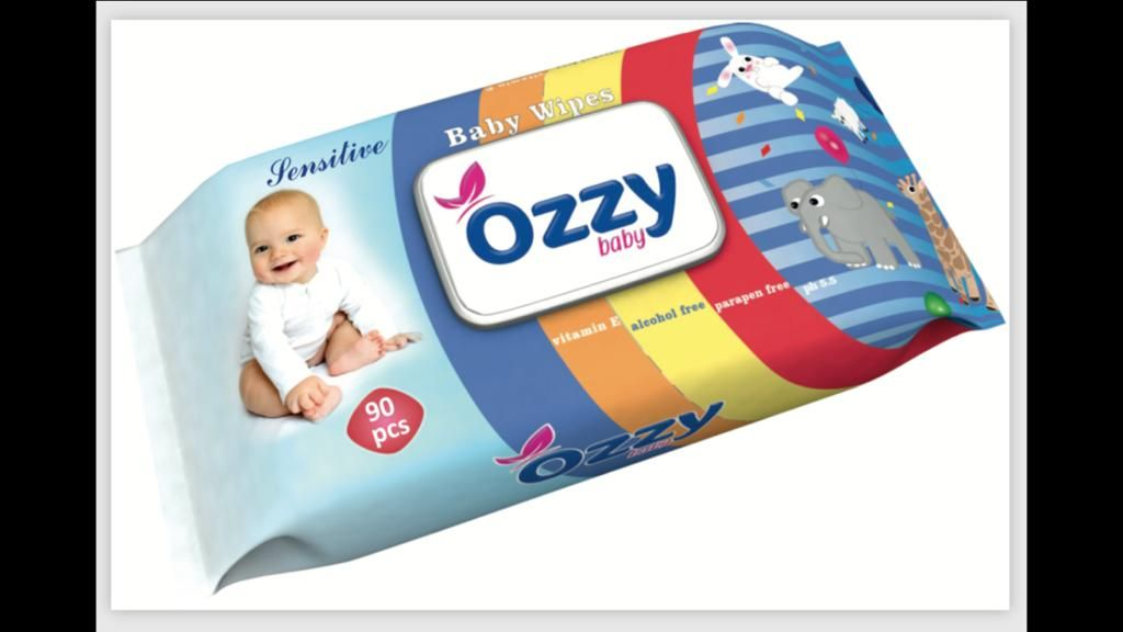 OZZY BOY WET WIPE