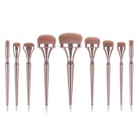 2020 NEW HOT makeup brushes Gold handle for Foundation Powder make up brushes pincel maquiagem beauty tools T09022