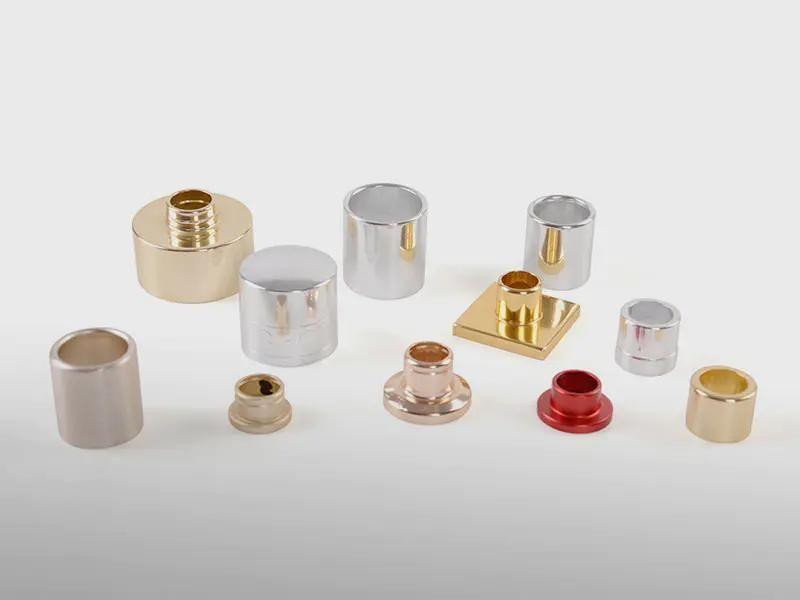 Custom aluminum accessories for perfume bottle