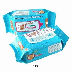 80pcs nonwoven baby wipes whole sale in China