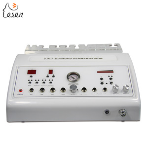 9 in 1 High Frequency + Ultrasonic + Spot Removal + Vacuum + Spray into facial dermabrasion microdermabrasion machine