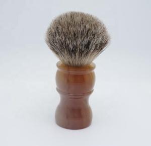 Badger Hair Shaving Brush Set Stand Shaving Brush Handle Wooden Shaving Brush