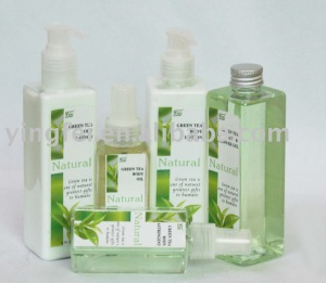 Green tea body care set