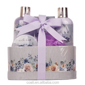 luxury bath gift box personal care set