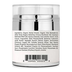OEM  ODM  private label hyaluronic acid vitamin E vitamin B5 jojoba oil skin whitening anti wrinkle aging face cream