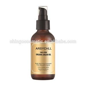 Private Label 100% Pure Oragnic Morocco Argan Oil for Hair Treatment