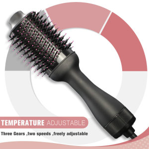 Professional Blow Dryer Hair Straightener And Curling Iron One Step Hair Dryer