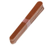 Professional wholesale double sided wooden nail file nail care tools