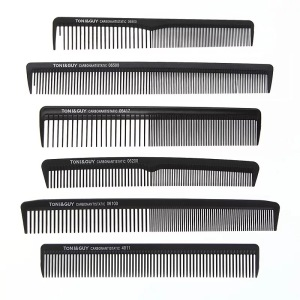 Wholesale Daily Used Personalized Plastic Hair Trim Comb With Custom Logo