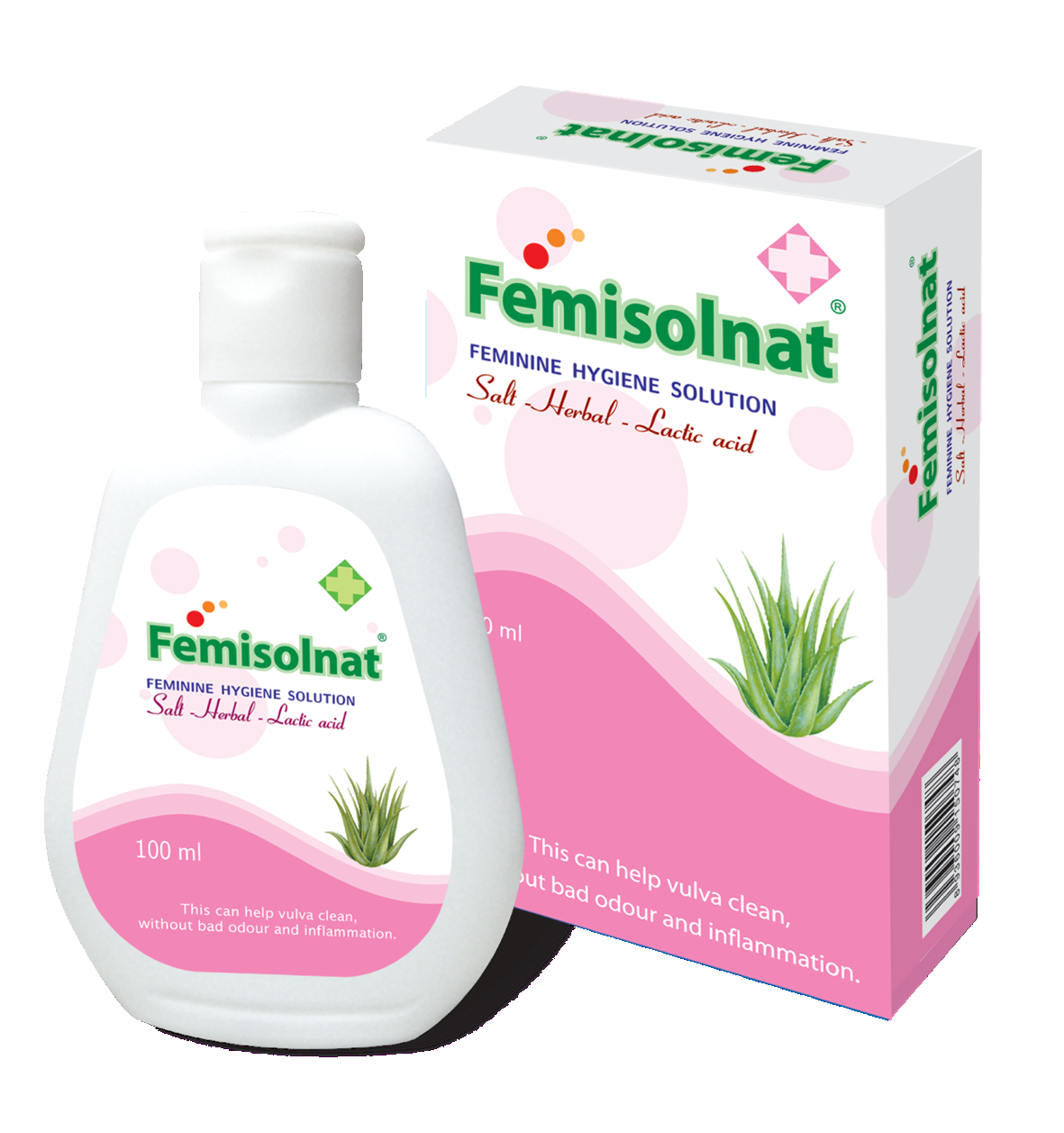 Wholesale Vietnam Best Quality Femisolnat Organic Feminine Hygiene Product/ Feminine Hygiene Wash
