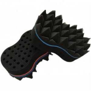 All Black Hair Twist Sponge Dread Loc Sponge Brush natural wigs afro coil foam