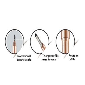 eyebrow pen private label waterproof eyebrow pencil