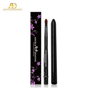 Fashion 1pc/bag Portable Retractable Makeup Cosmetic Lip Brush Lip Stick Brush 17.5cm