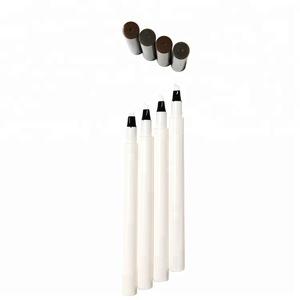 Hot Selling Tattoo Eyebrow Pencil Tips Waterproof Long Lasting Permanent Liquid Eyebrow Pen Tube