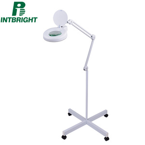LED Clip Table Lamp Salon Magnifier Lamp Tattoo Lamp Magnifying Glass With Light Tattoo Kits