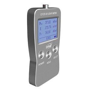 Linshang Direct Selling LS125 UV Light Meter Test Ultraviolet Radiation Power Energy UVB UVA UVC LED Lamp Support 7 Probe Sensor