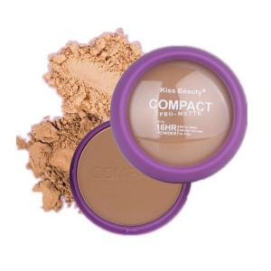 Private Label Cosmetic Wholesale OIL-FREE  Matte Compact Press Powder Makeup Face Powder