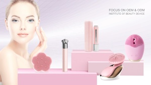 ultrasonic wave massage facial cleansing brush silicone face washing brush silicone face exfoliate brush