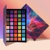 UCANBE 2pcs/lot Supersize Eye Shadow Palette Makeup Set Colorful Artist Shimmer Glitter Matte Pigmented Powder Pressed Eyeshadow