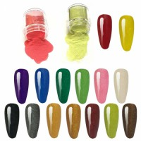 Acrylic Dip Powder Nail Kit Better Than UV Gel More Design Changes Art DIY at Home Dipping Powder for Nails