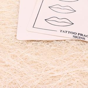 AI-Aiheogae Body Art Synthetic Flexible Lips Tattoo Designs Practice Skins MUA712