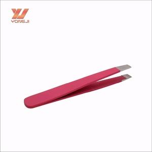Best quality magic small size slant eyebrow tweezers