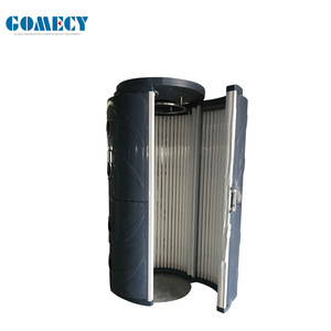 China Whole Body Tanning Machine Tanning Beds Factory Prices Standing Solarium  vertical sunbed for skin tanning sun booth