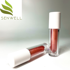 Custom Private Label Moisturizer  Waterproof Liquid Lipstick Sexy Big Lips Glitter Transparent Glitter Lip Stick