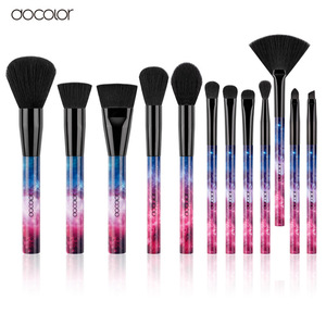Docolor Portable Plastic Handle Makeup Brush S1202