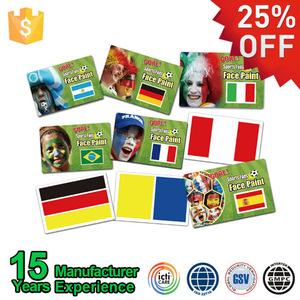Football Fans England Modern Face Painting Supplies