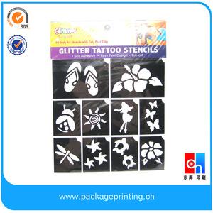 Glitter Tattoo Stencils