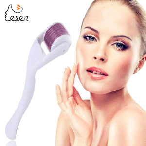 High Quality Zgts Derma Roller Titanium 540 Derma Roller Needles 540 For Skin Care Body Massager